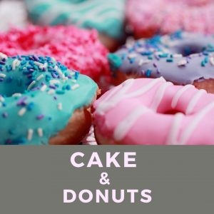 Cake and donuts near me