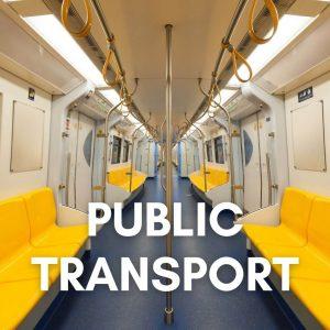 Public transport near me