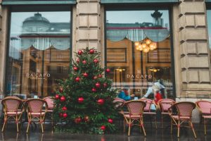 Christmas restaurants near me